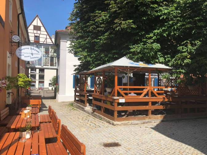 Stadtcafé Oettingen Biergarten